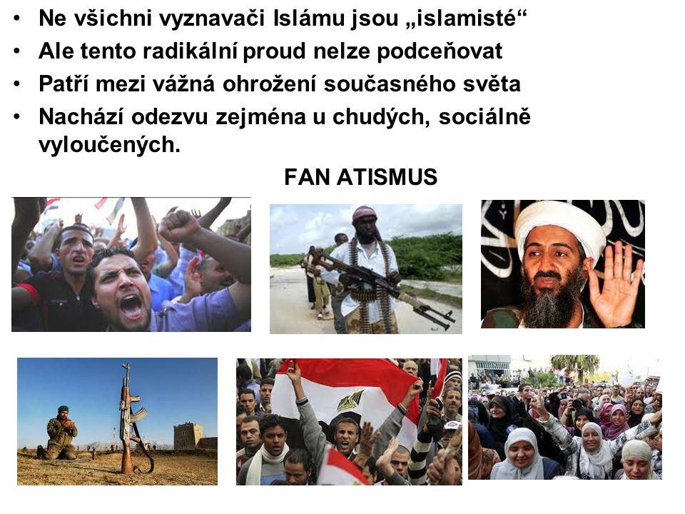 """Ne všichni vyznavači Islámu jsou """"islamisté"""