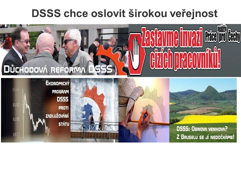 DSSS chce oslovit širokou veřejnost