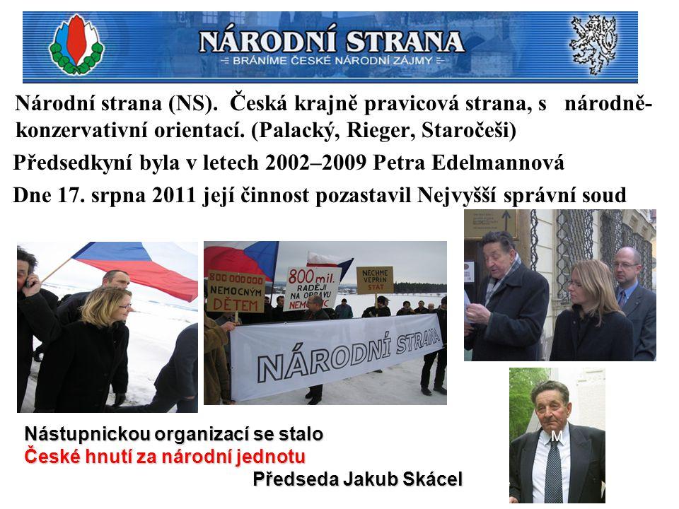 Předsedkyní byla v letech 2002–2009 Petra Edelmannová