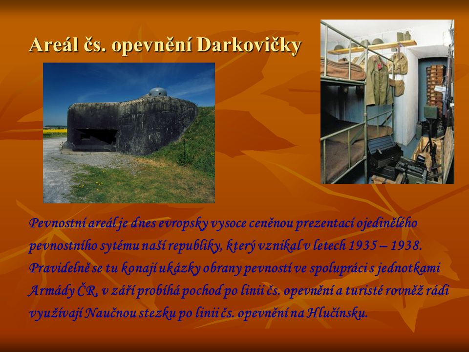 Areál čs. opevnění Darkovičky