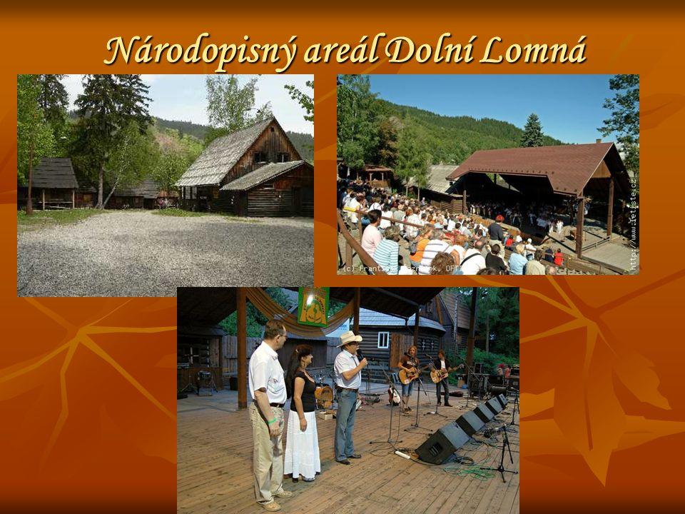 Národopisný areál Dolní Lomná