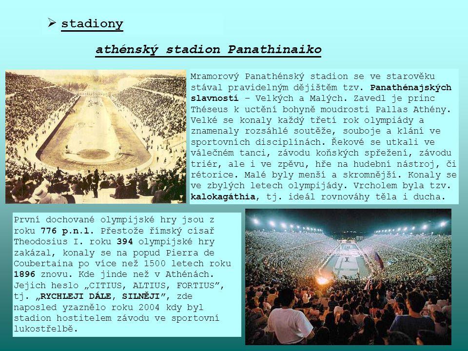 athénský stadion Panathinaiko