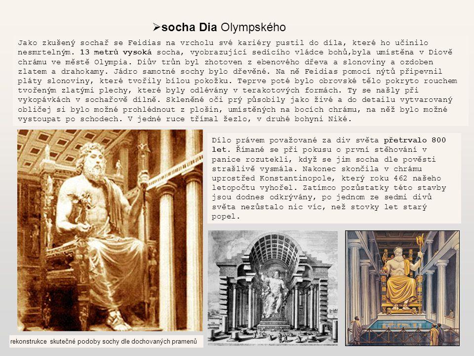 socha Dia Olympského