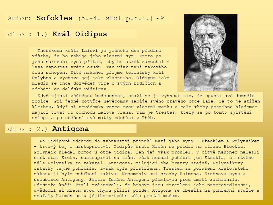 autor: Sofokles (5.-4. stol p.n.l.) - >