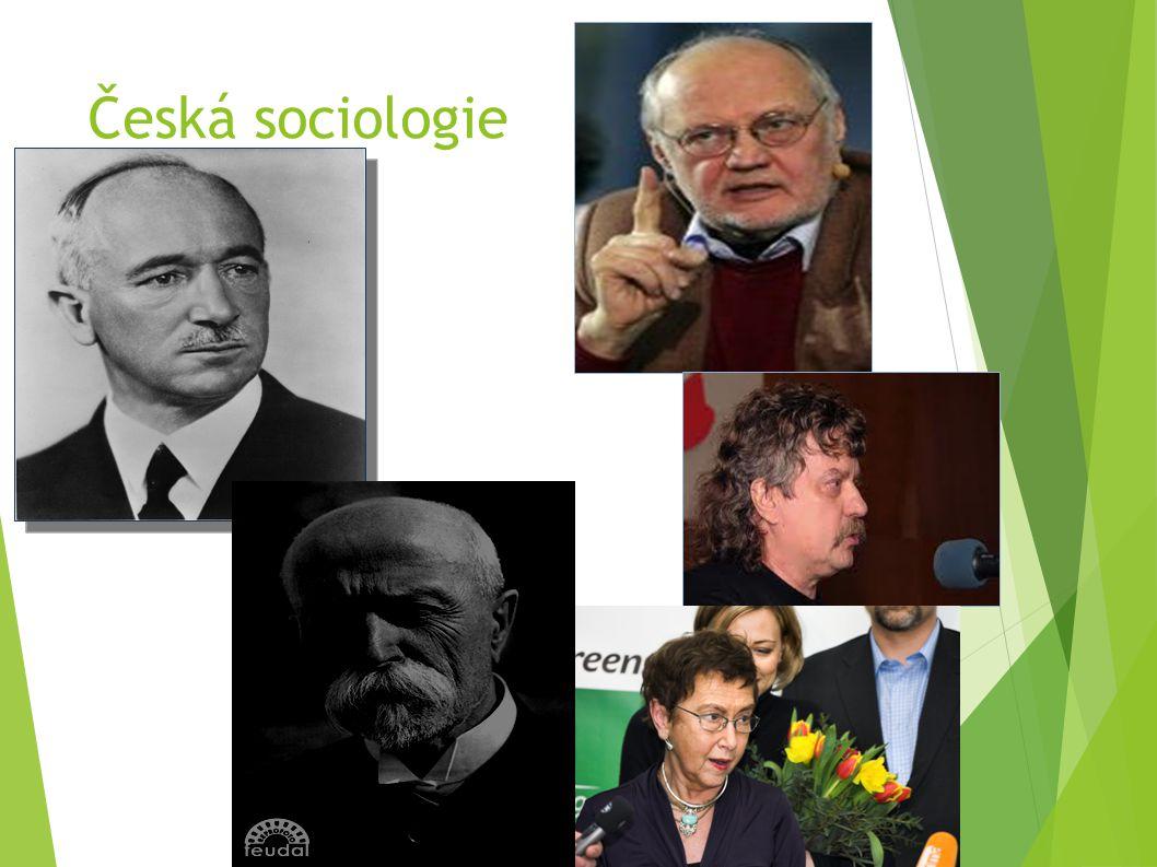 Česká sociologie