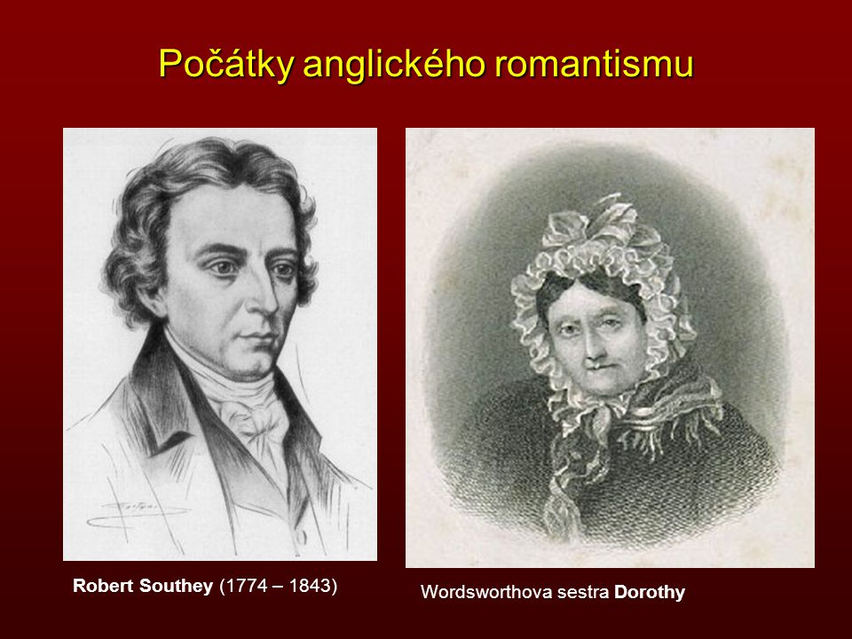 Počátky anglického romantismu