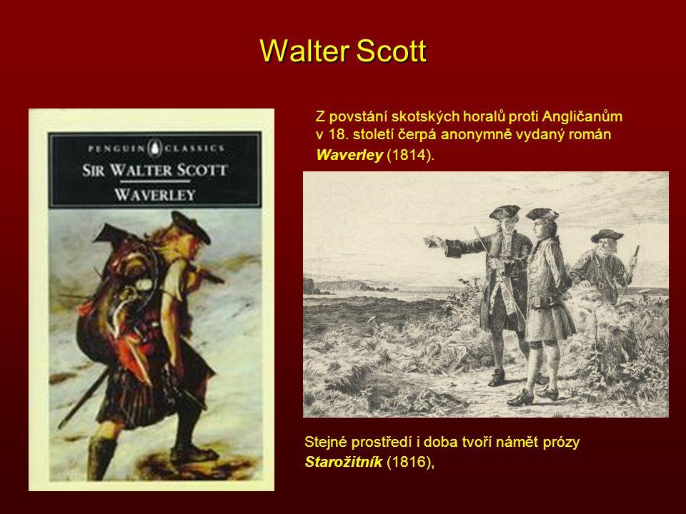 Walter Scott Z povstání skotských horalů proti Angličanům