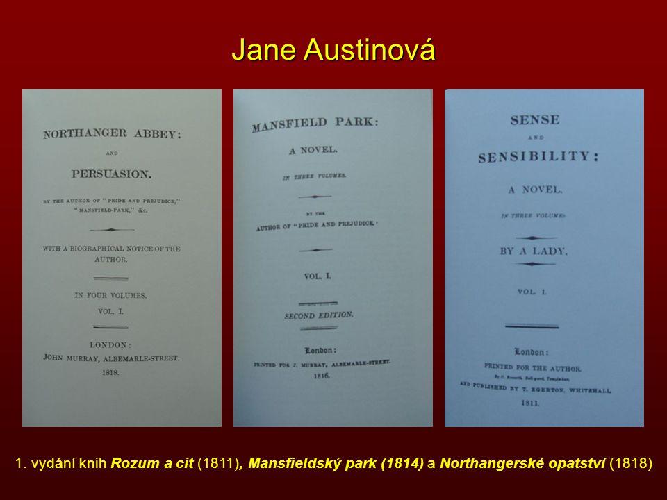 Jane Austinová 1.