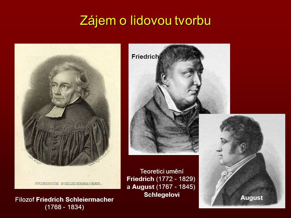 Filozof Friedrich Schleiermacher
