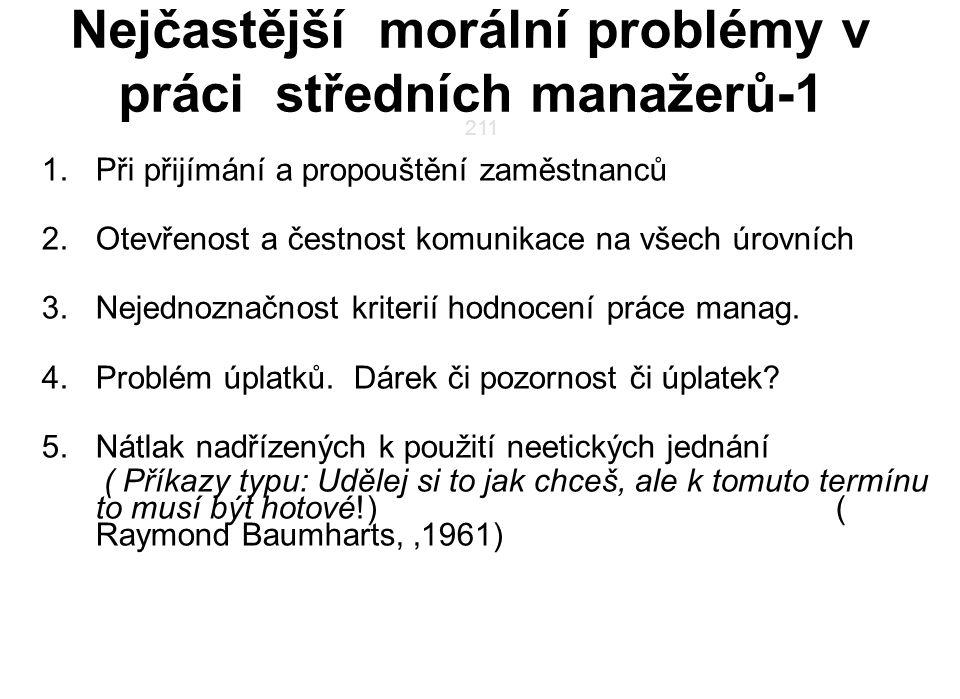 Nejčastější morální problémy v práci středních manažerů-1