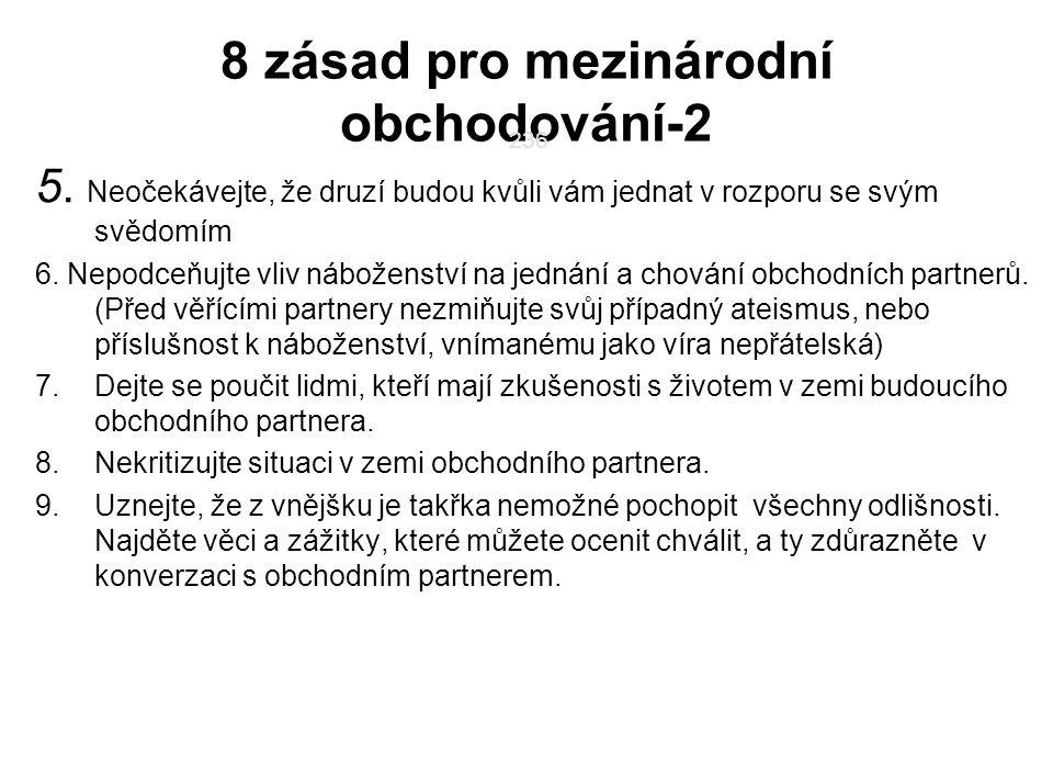 8 zásad pro mezinárodní obchodování-2