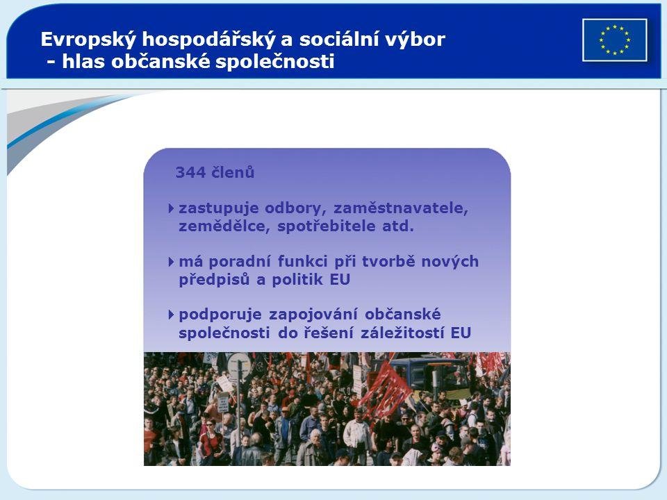 Evropský hospodářský a sociální výbor - hlas občanské společnosti
