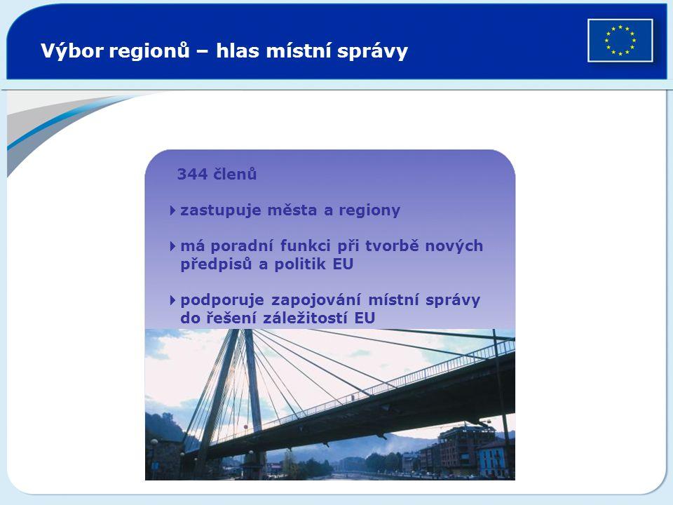 Výbor regionů – hlas místní správy