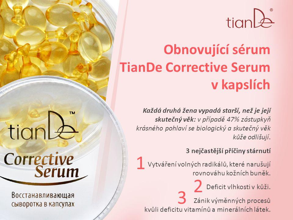 Obnovující sérum TianDe Corrective Serum v kapslích