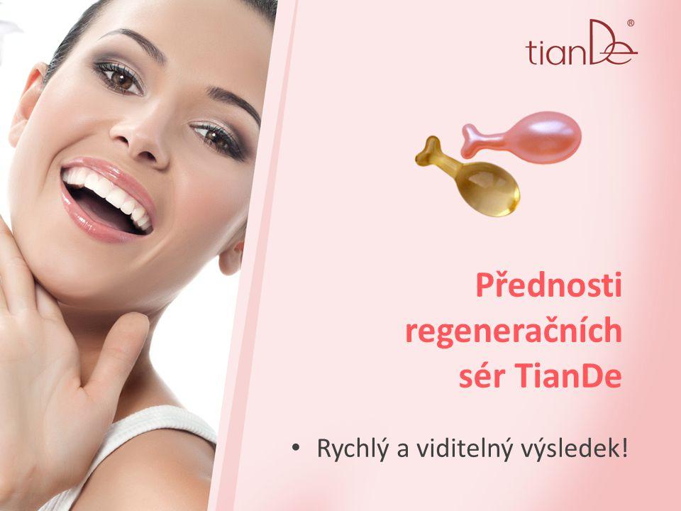 Přednosti regeneračních sér TianDe