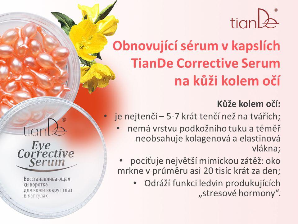 Obnovující sérum v kapslích TianDe Corrective Serum na kůži kolem očí