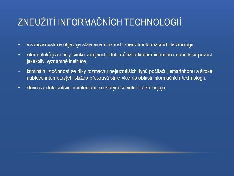 Zneužití informačních technologií