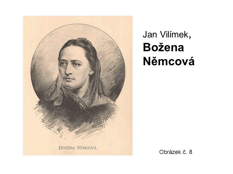 Jan Vilímek, Božena Němcová