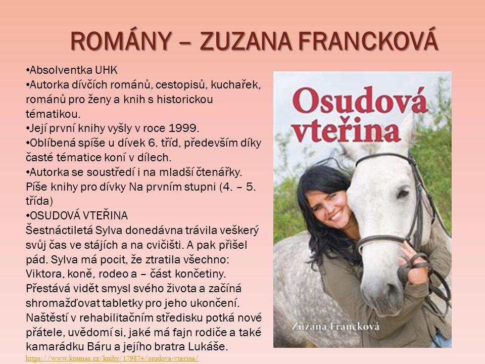 ROMÁNY – ZUZANA FRANCKOVÁ