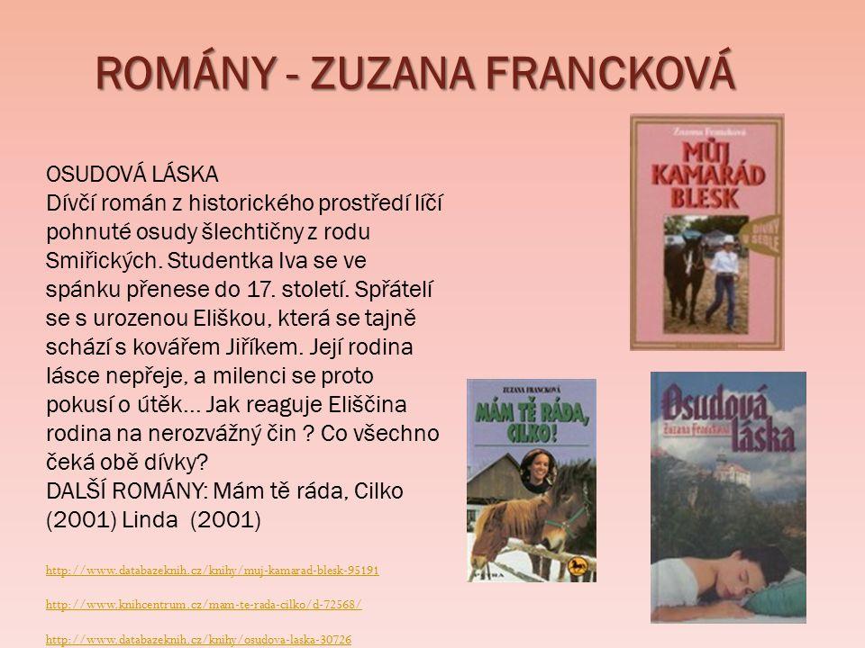ROMÁNY - ZUZANA FRANCKOVÁ