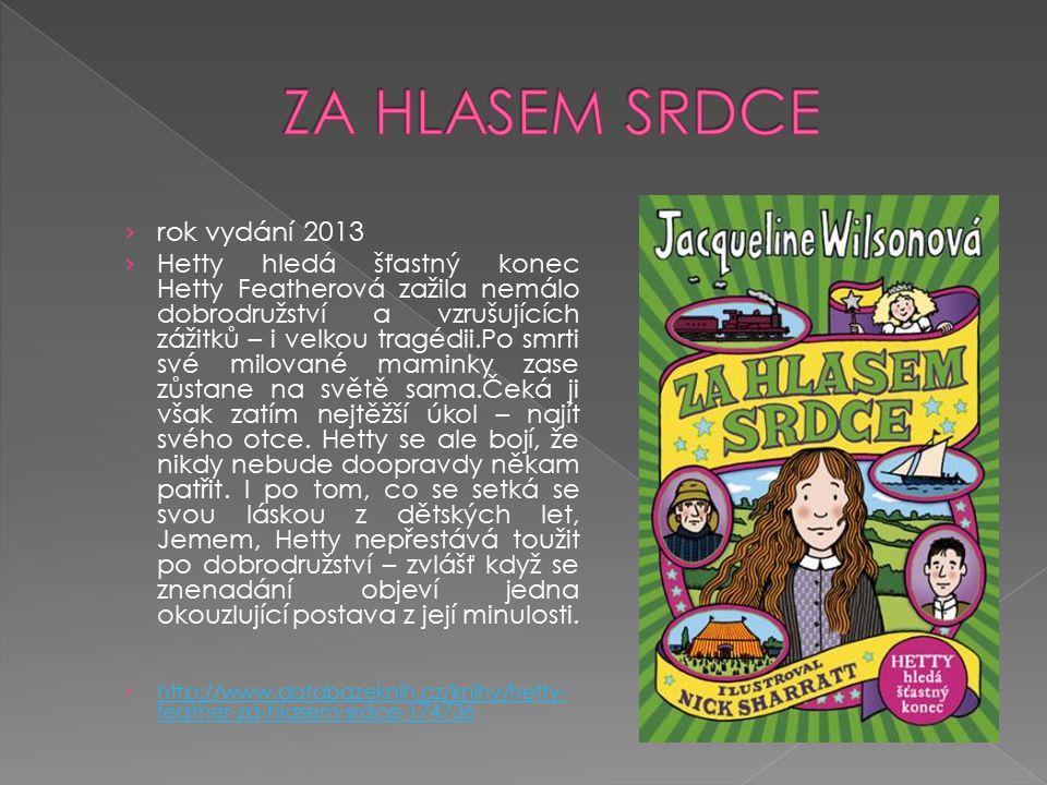 ZA HLASEM SRDCE rok vydání 2013