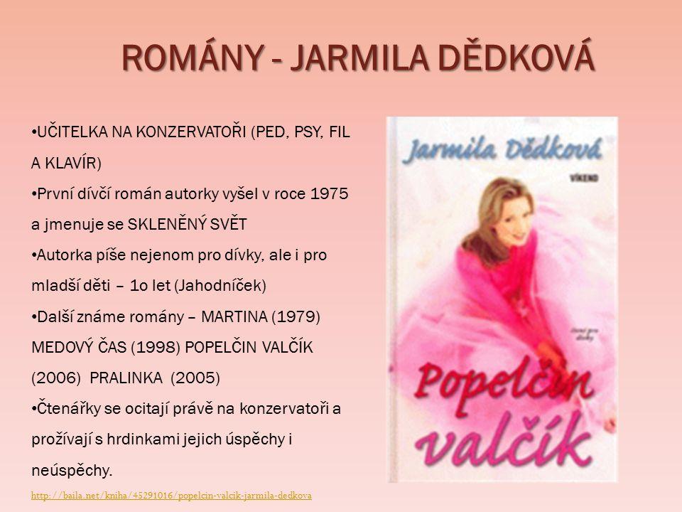 ROMÁNY - JARMILA DĚDKOVÁ