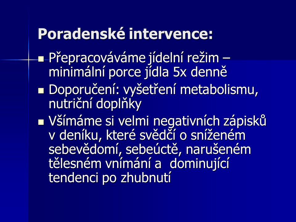 Poradenské intervence: