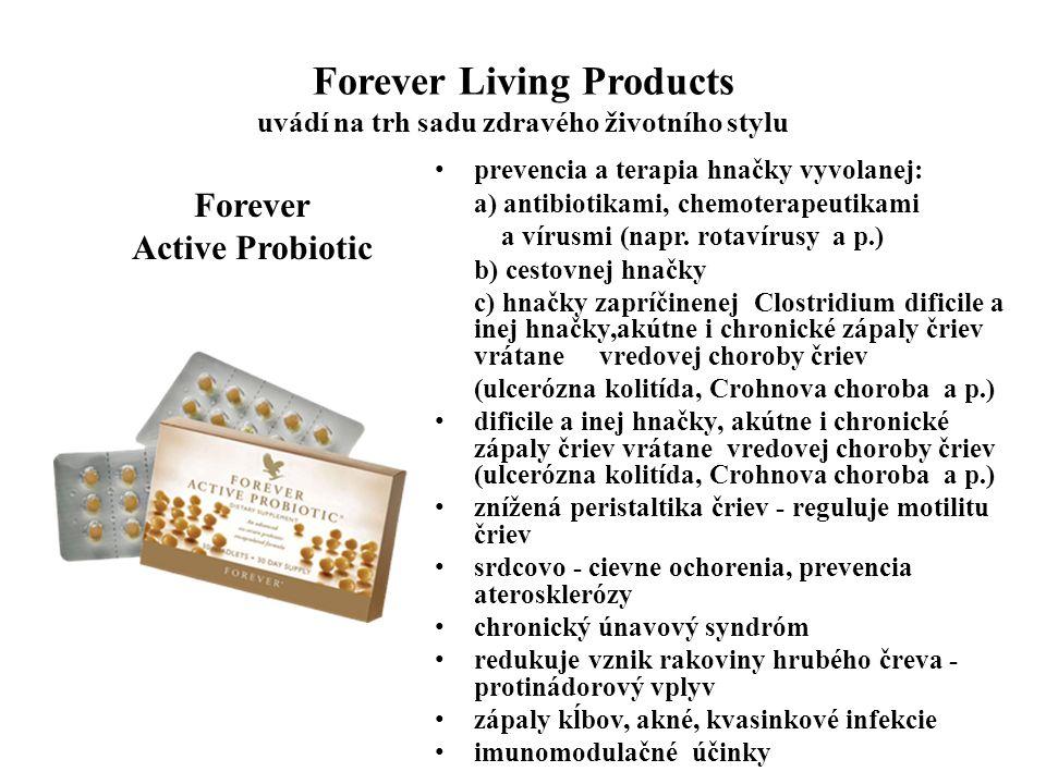 Forever Living Products uvádí na trh sadu zdravého životního stylu