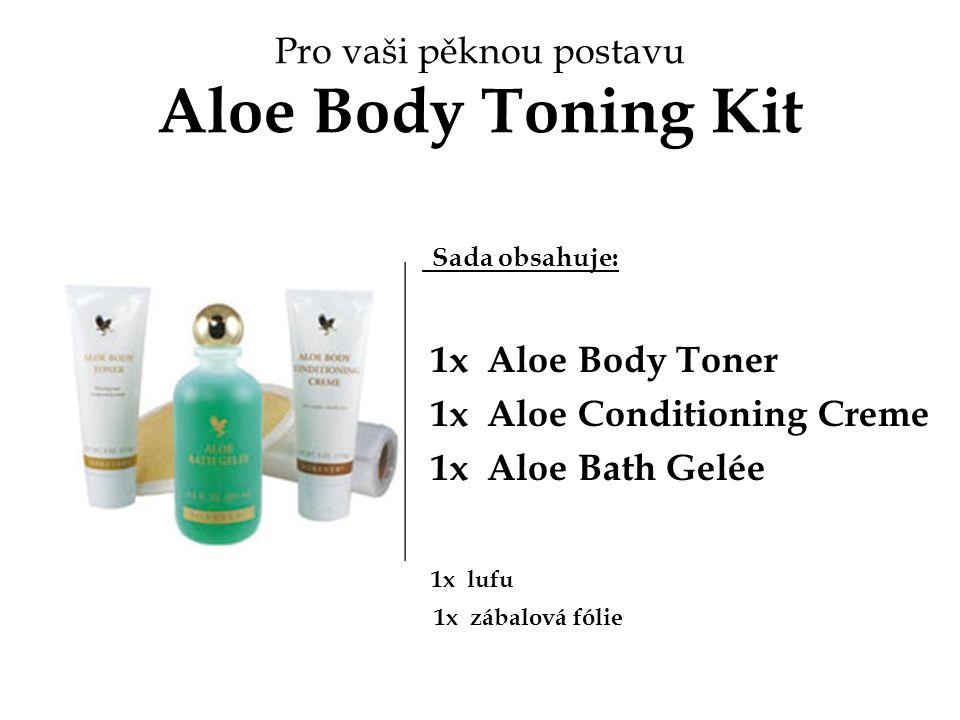 Pro vaši pěknou postavu Aloe Body Toning Kit