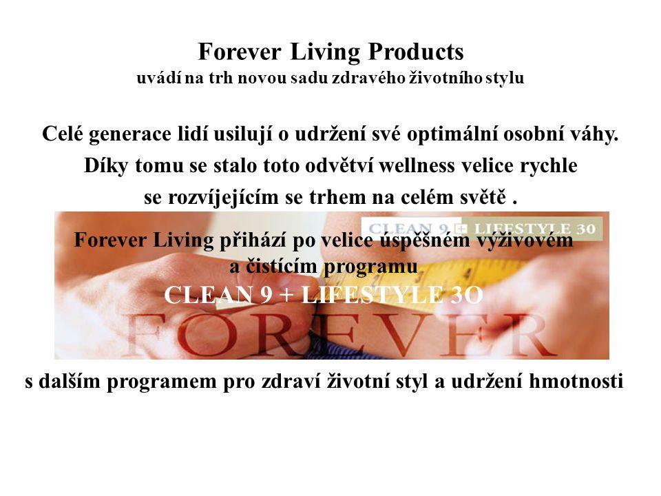 Forever Living Products uvádí na trh novou sadu zdravého životního stylu