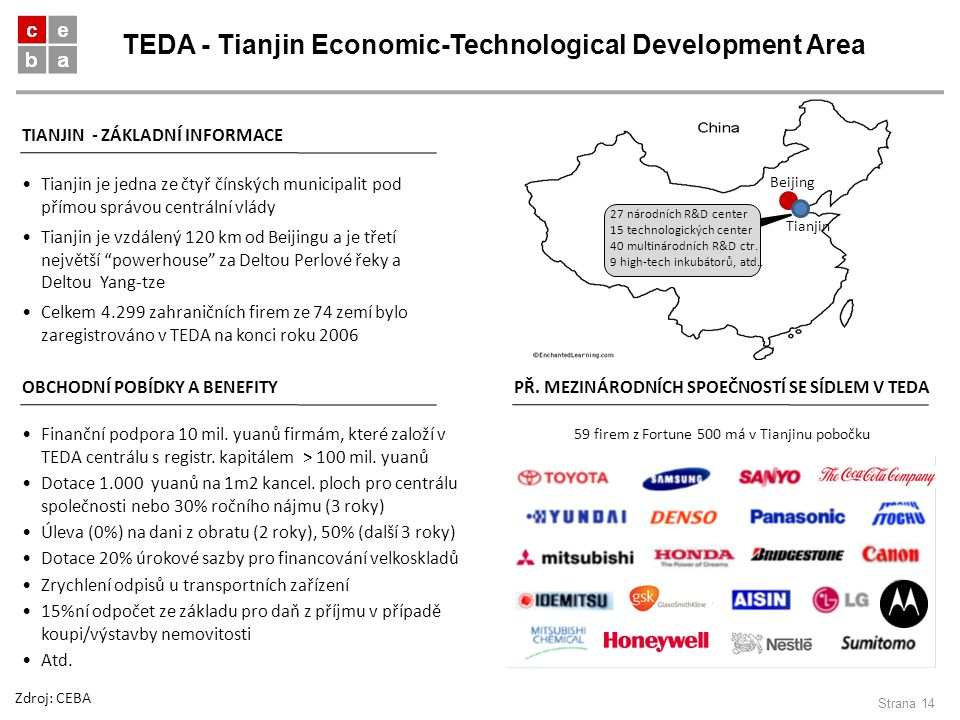 TEDA - Tianjin Economic-Technological Development Area