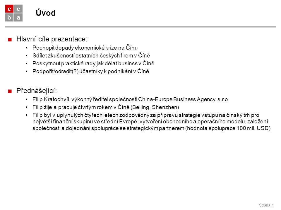 Úvod Hlavní cíle prezentace: Přednášející: