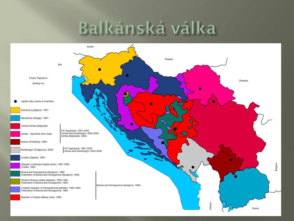 Balkánská válka