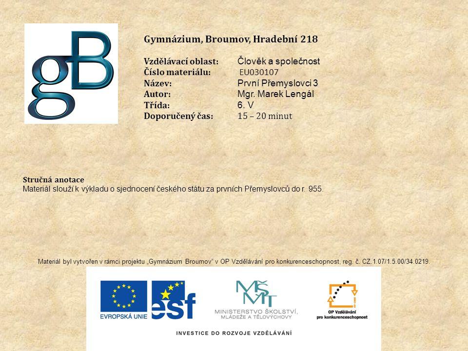 Gymnázium, Broumov, Hradební 218