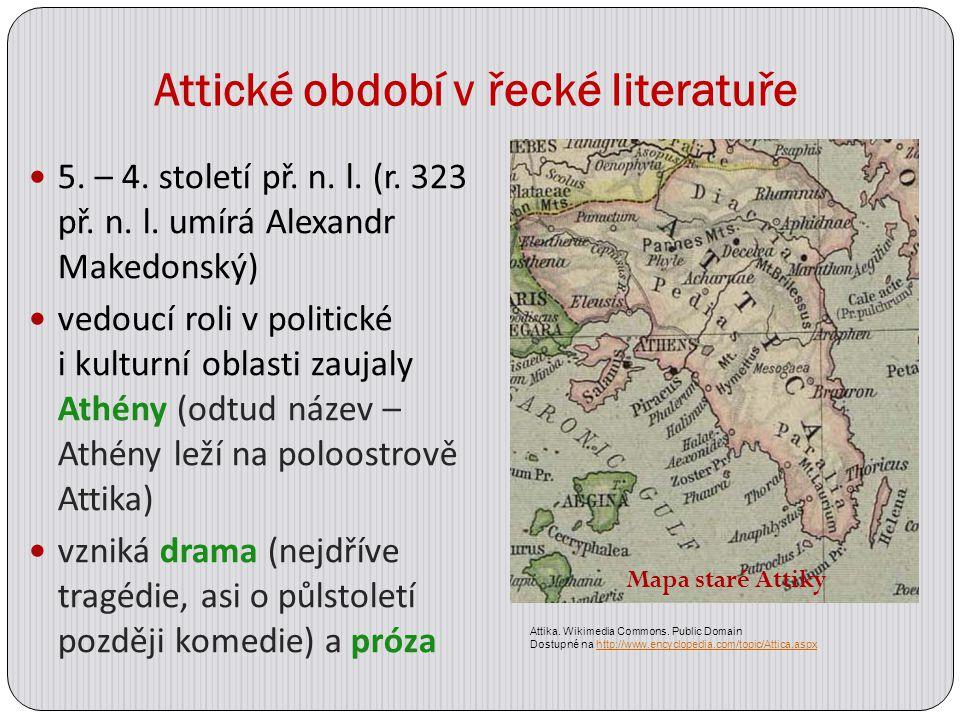 Attické období v řecké literatuře