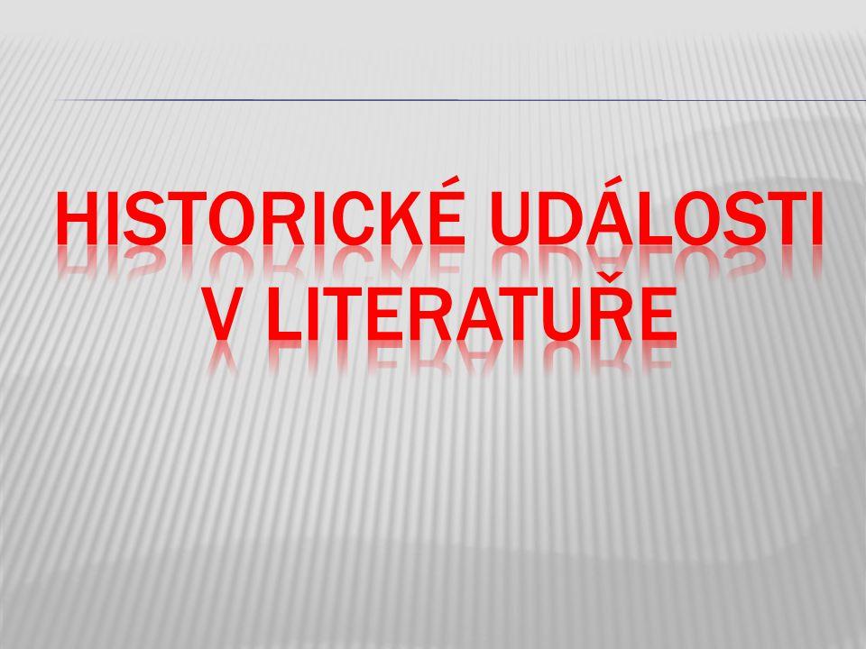 Historické události v literatuře