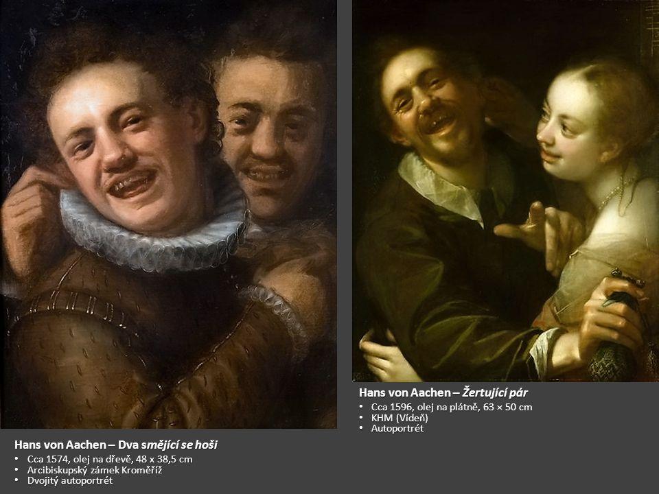Hans von Aachen – Žertující pár