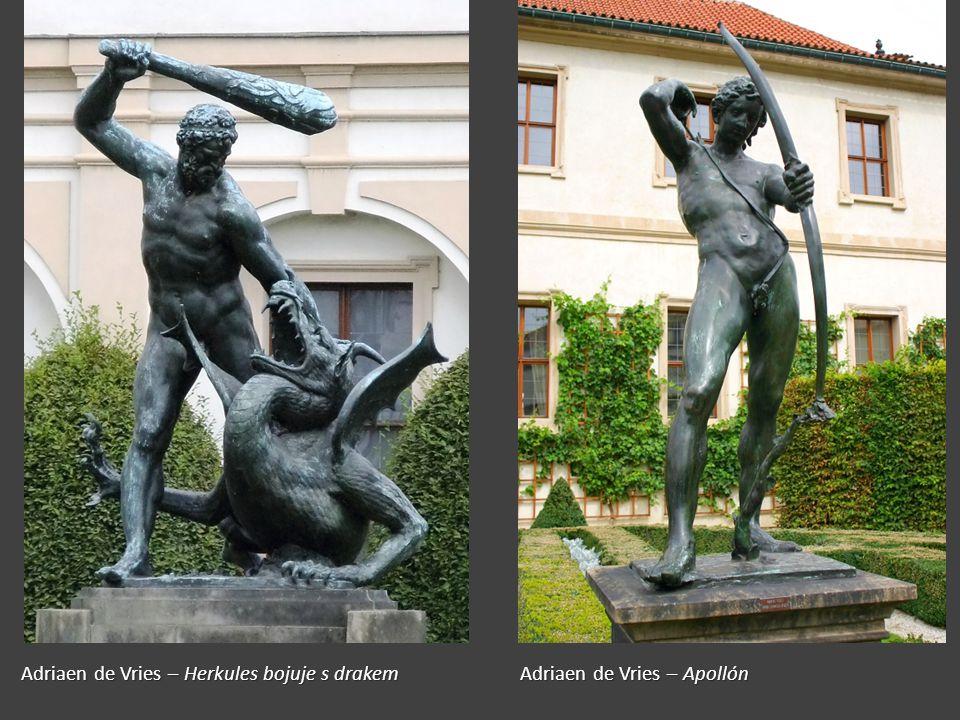Adriaen de Vries – Herkules bojuje s drakem