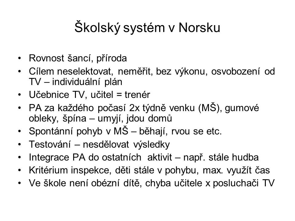 Školský systém v Norsku