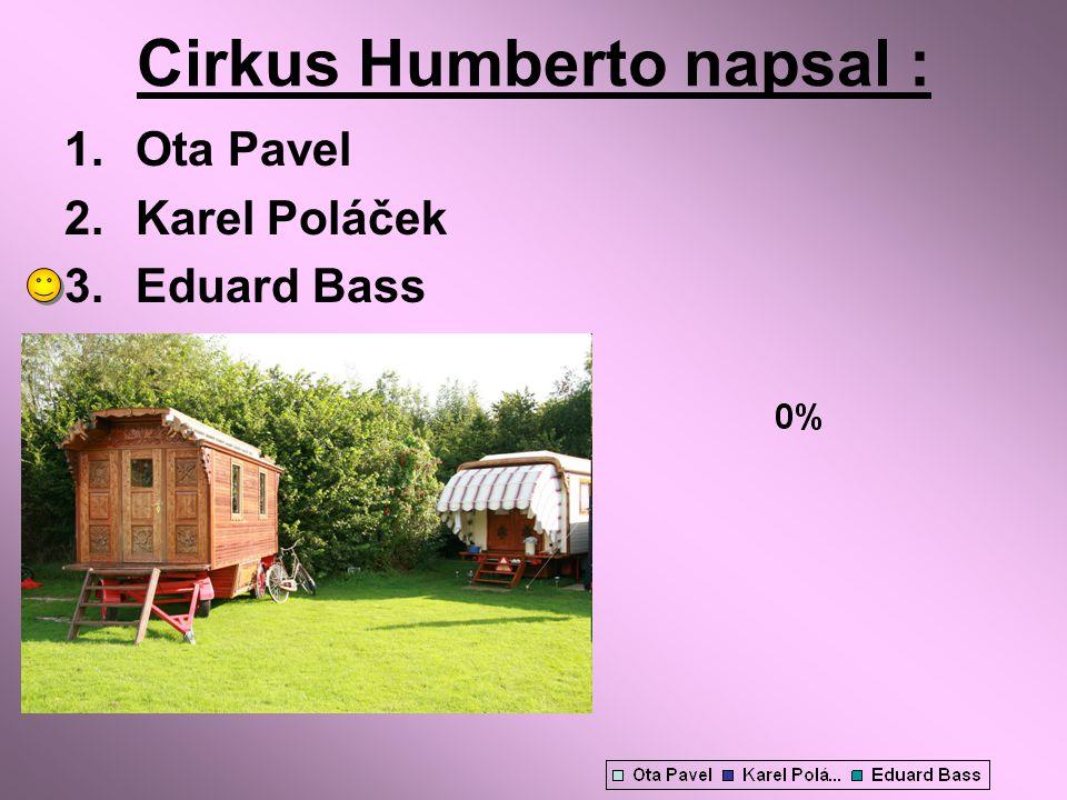 Cirkus Humberto napsal :