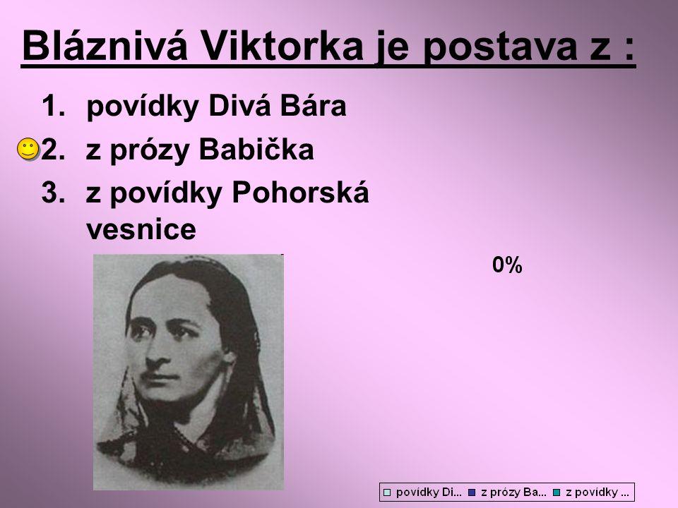 Bláznivá Viktorka je postava z :