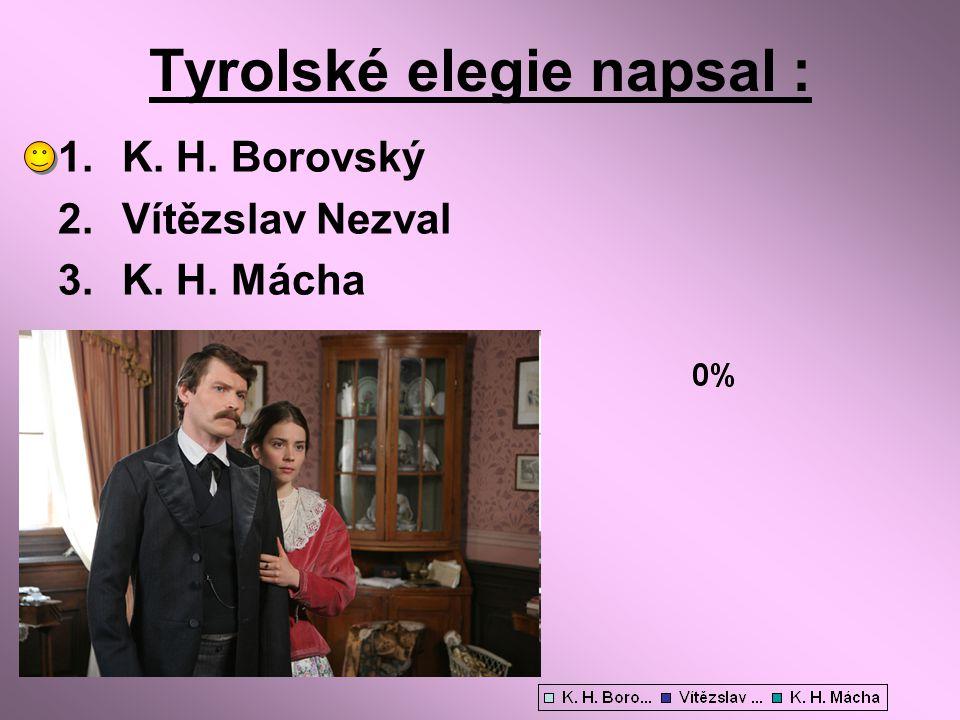 Tyrolské elegie napsal :