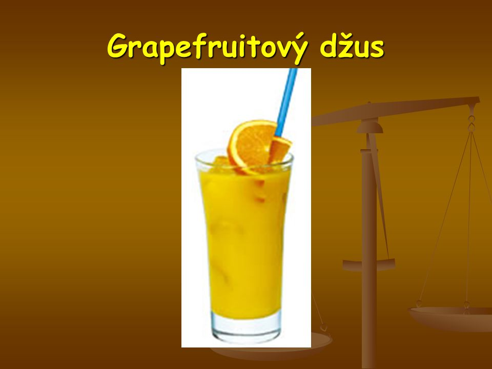 Grapefruitový džus