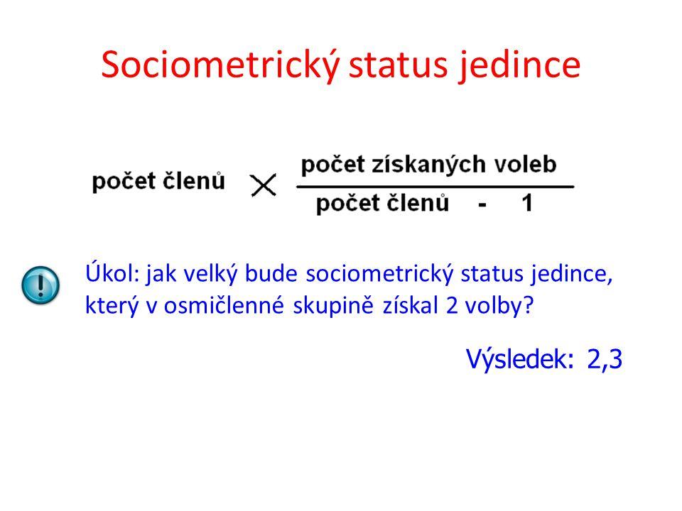 Sociometrický status jedince