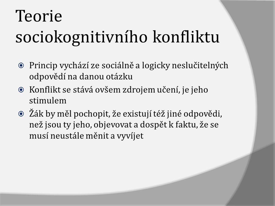 Teorie sociokognitivního konfliktu