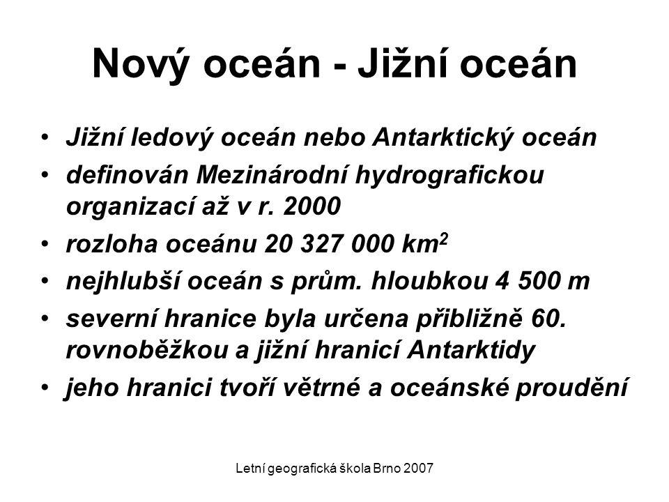 Nový oceán - Jižní oceán
