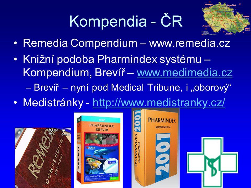 Kompendia - ČR Remedia Compendium – www.remedia.cz