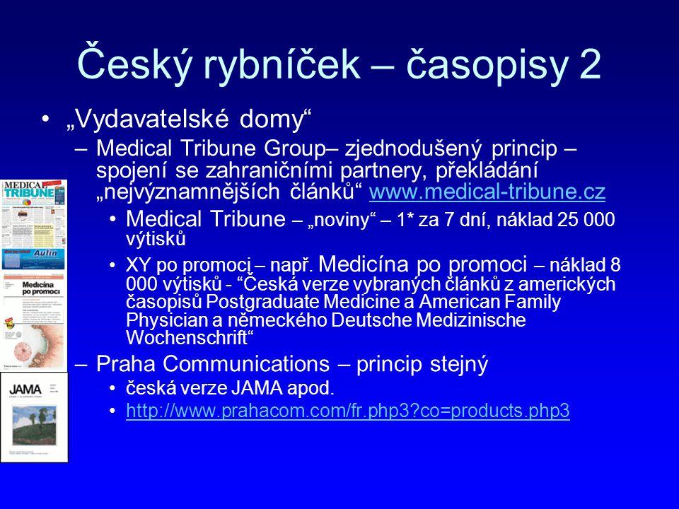 Český rybníček – časopisy 2
