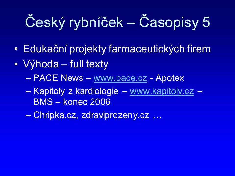 Český rybníček – Časopisy 5
