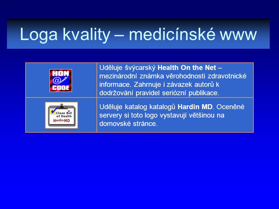 Loga kvality – medicínské www